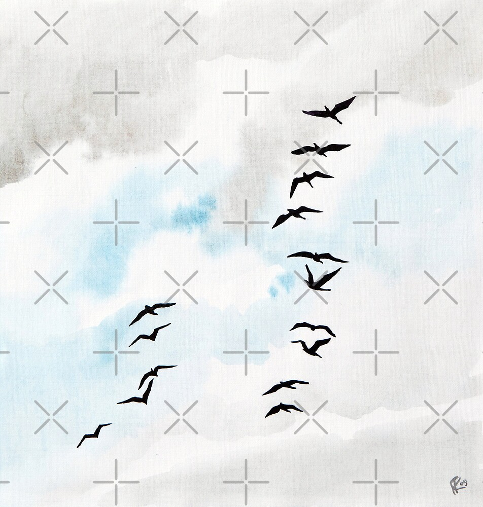Birds 2 by Aleksandra Kabakova