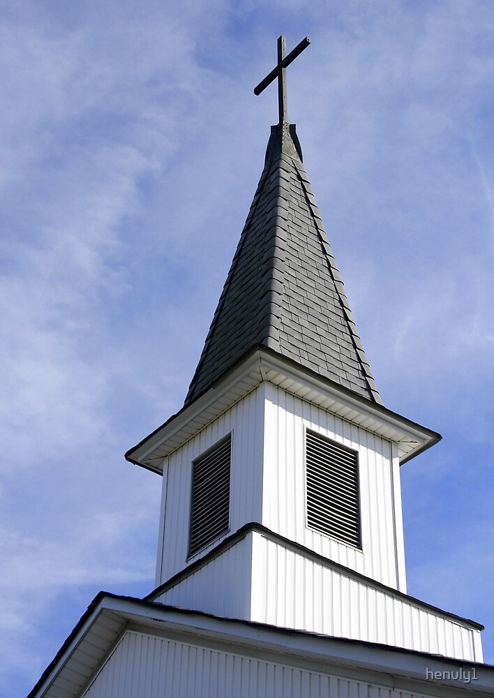 Quot Church Steeple In Close Up Quot By Henuly1 Redbubble
