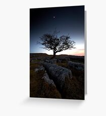 Last Light at Langcliffe Greeting Card
