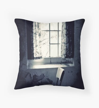 Loss ~ West Park Asylum Throw Pillow