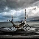 Sun Voyager - Reykjavík by Kathy Weaver