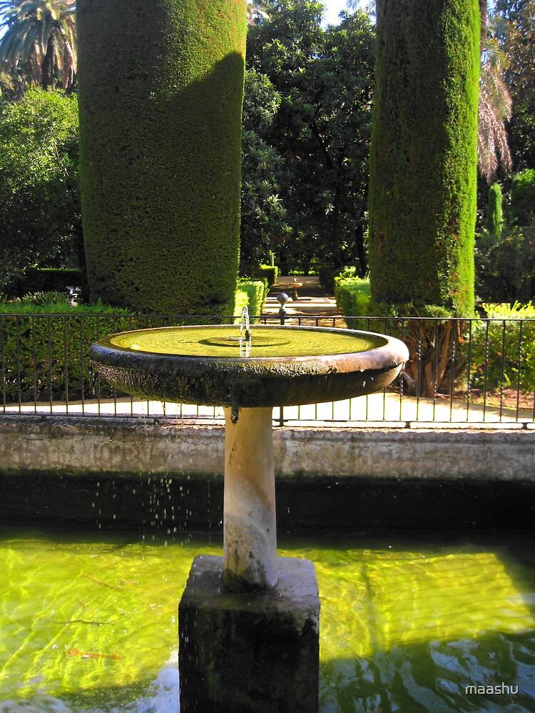 Fountain of the Alcazar by maashu