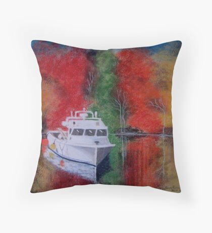 Spirit of New England Throw Pillow