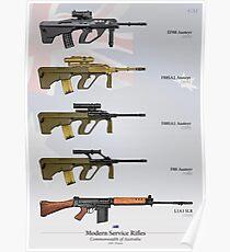Service Rifles of Australia Poster