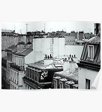 Paris hotel Poster
