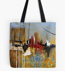 """Far Away City""  Tote Bag"