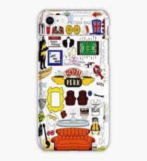 Central Perk Friends TV Sitcom Minimal Art iPhone Case/Skin