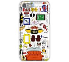 Central Perk Friends TV Sitcom Minimal Art iPhone Case/Skin