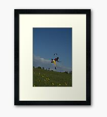 Kite Take Off Framed Print