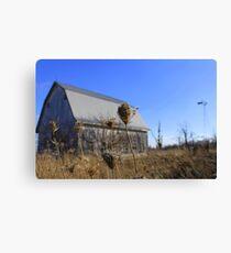 Indiana barn Canvas Print