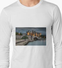 Conwy Castle by Lamplight T-Shirt