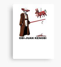 Obi-Juan Kenobi Canvas Print