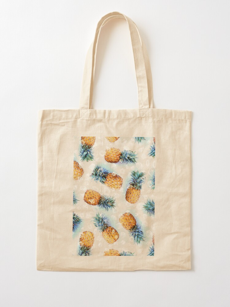 Alternate view of Pineapples + Crystals Tote Bag