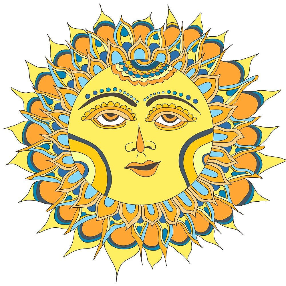 Lemon Yellow Sun by mintdawn