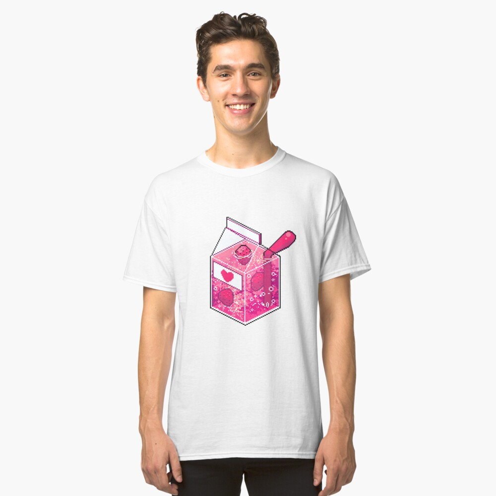 Pink Strawberry Nebula Juice Classic T-Shirt