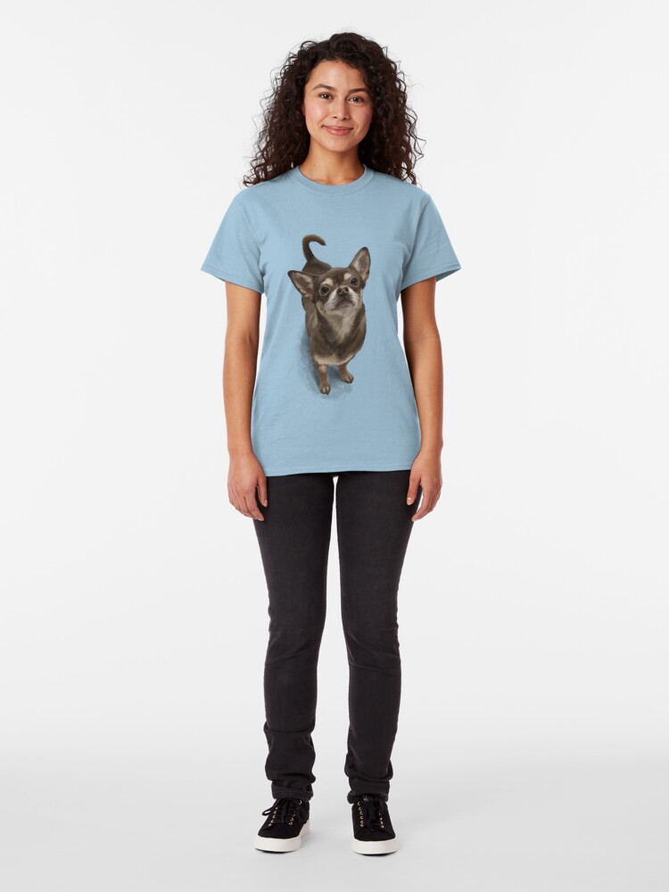 Alternate view of The Chihuahua Classic T-Shirt