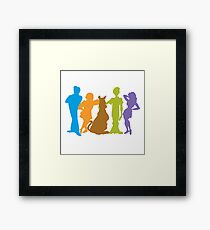Scooby Gang Framed Print