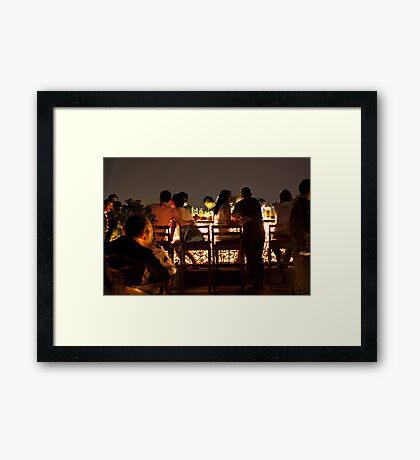The Vertigo Bar Framed Print