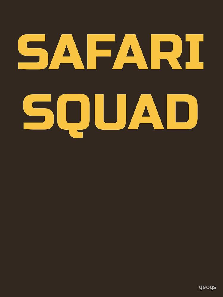 Cool Travel Africa - Safari Squad von yeoys