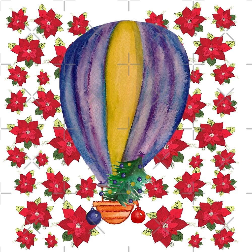 Holiday Balloon Art  by Manitarka