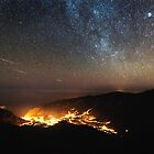 Milky Way Over my Town by Diogo Pereira