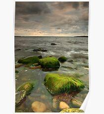 atlantic ocean in ireland Poster