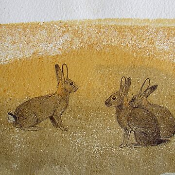 Three Rabbits by Polecatty