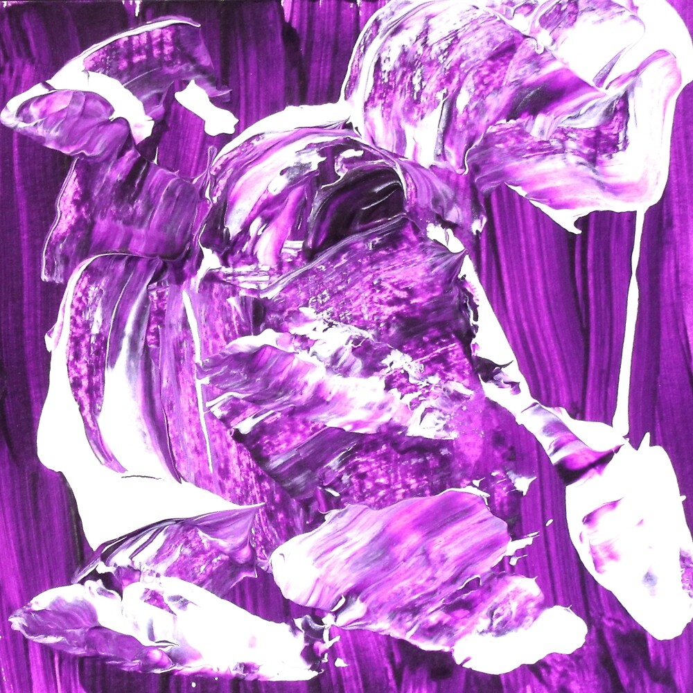 Abstract Purple Design  by ShiningEyeArts
