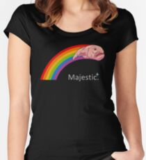Majestic Blobfish Women's Fitted Scoop T-Shirt