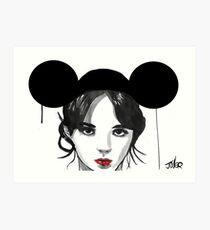 mouseketeer Art Print