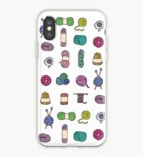 Balls of Yarn - Knitting Watercolor iPhone Case