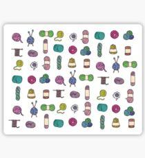 Balls of Yarn - Knitting Watercolor Sticker