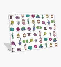 Balls of Yarn - Knitting Watercolor Laptop Skin
