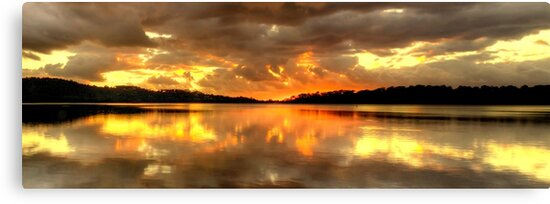 The Awakening (25 exposure HDR Panorama) - Narrabeen Lakes,Sydney  Australia - The HDR Experience by Philip Johnson