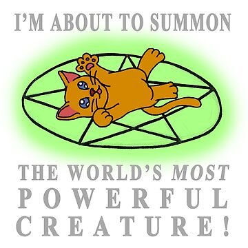 I'm about to summon.... A CAT! by TheBitGeek