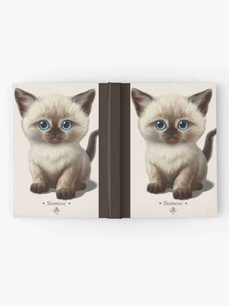 Alternate view of Cataclysm- Siamese Kitten Classic Hardcover Journal