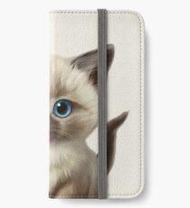 Cataclysm- Siamese Kitten Classic iPhone Wallet/Case/Skin