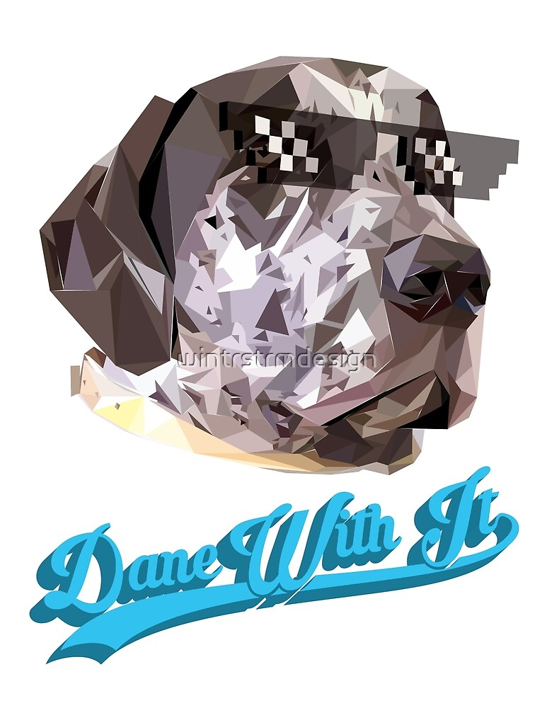 Dane With It by wintrstrmdesign