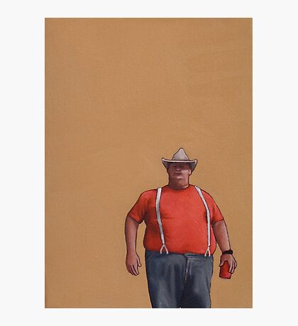 Big Guy Photographic Print