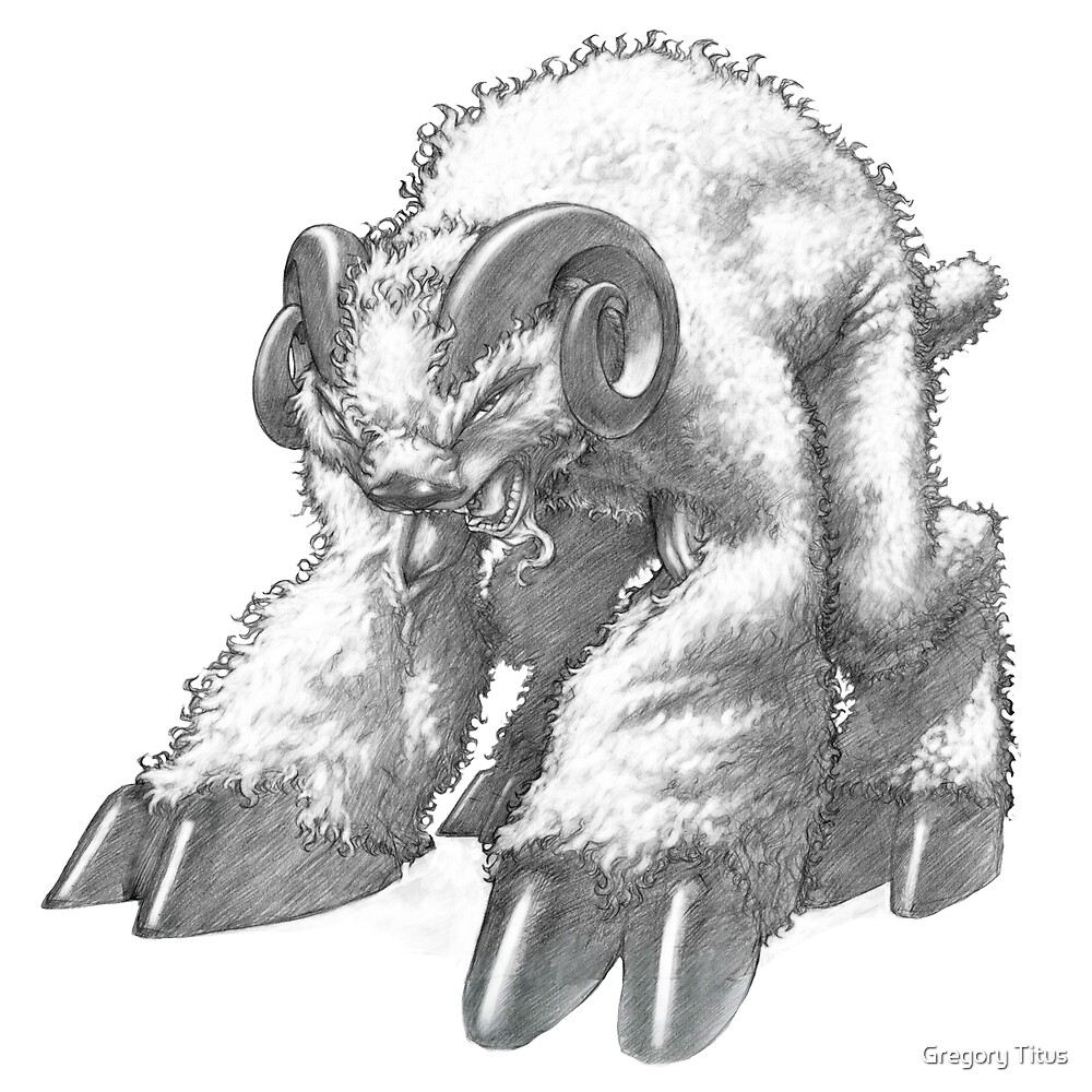The Norwegian Bloodlamb by Gregory Titus