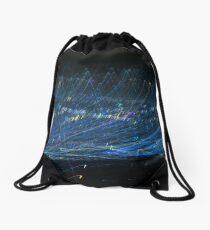 Blue Light trail Drawstring Bag