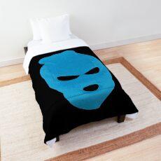 BLANK FACE BLUE Comforter
