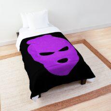 BLANK FACE VIOLET Comforter