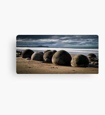 Moeraki Boulders - New Zealand Canvas Print