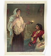 The lady with the lamp (Miss Nightingale at Scutari, 1854) Poster