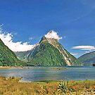 Milford Sound, New Zealand by Adrian Paul