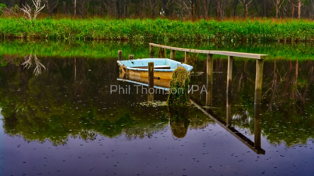"""""""Floodtide Reflections"""" by Phil Thomson IPA"""