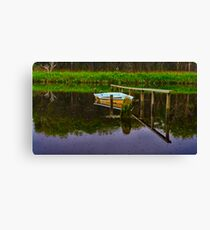 """Floodtide Reflections"" Canvas Print"