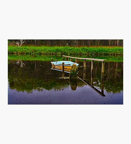 """Floodtide Reflections"" Photographic Print"