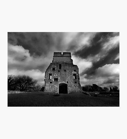 Donnington Castle Ruins Photographic Print